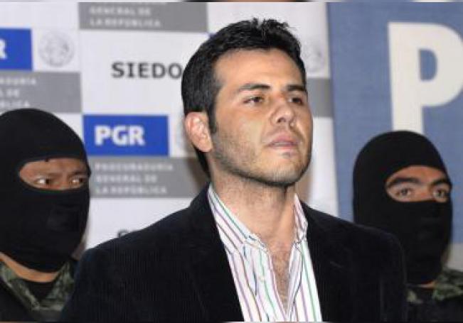 """Vista de Vicente Zambada Niebla, alias """"el Vicentillo"""", hijo del narcotraficante mexicano Ismael """"El Mayo"""" Zambada García, uno de los máximos jefes del cártel de Sinaloa. EFE/Archivo"""