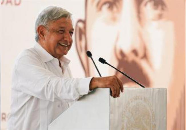 En la imagen un registro del presidente de México, Andrés Manuel López Obrador. EFE/Archivo
