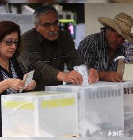 Alrededor de 13,5 millones de ciudadanos de cinco estados de México están llamados a las urnas este domingo para elegir a quienes ocuparán 148 cargos públicos.