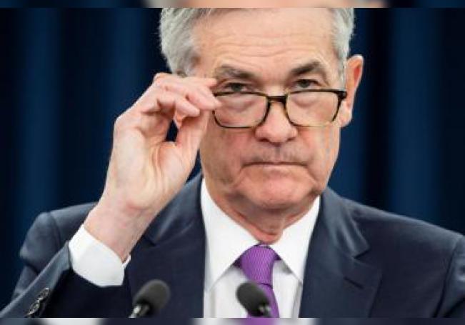 El presidente de la Reserva Federal (Fed) de Estados Unidos, Jerome Powell. EFE/Archivo