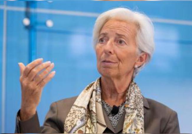 La directora del Fondo Monetario Internacional (FMI) Christine Lagarde. EFE