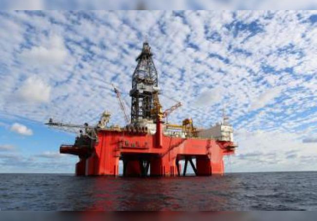 Fotografía cedida por la empresa Petróleos Mexicanos (PEMEX) de la Plataforma West Pegasus de aguas profundas en el Golfo de México. EFE/PEMEX/SOLO USO EDITORIAL