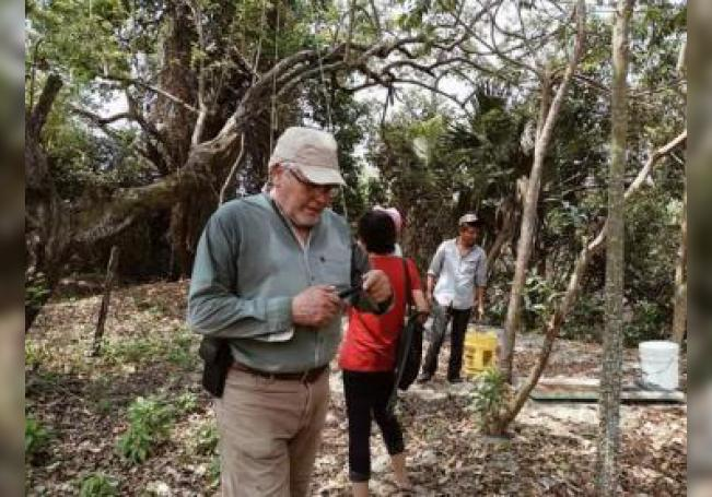 Fotografía cedida que muestra al ecologista mexicano José Luis Álvarez Flores, defensor del santuario del mono saraguato quien fue asesinado a balazos informaron organizaciones ecologistas. EFE/SOLO USO EDITORIAL/MÁXIMA CALIDAD DISPONIBLE