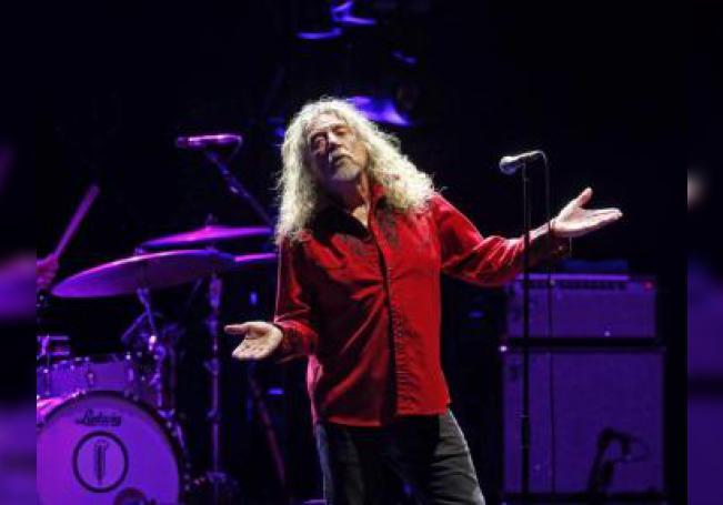 El que fuera vocalista de Led Zeppelin, Robert Plant. EFE/Archivo