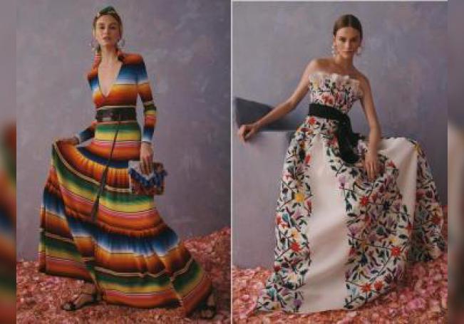 Fotos cedidas por la firma Carolina Herrera de la última colección Resort 2020.