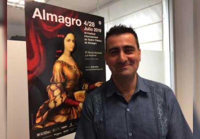 Ignacio García (Madrid, 1977), nombrado director de Almagro en 2017. EFE/Concha Barrigós