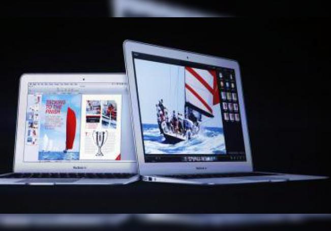 Vista del Macbook Air, anunciado durante la Conferencia de Desarrolladores Apple en San Francisco, California (EE.UU.). EFE/MONICA M. DAVEY/Archivo