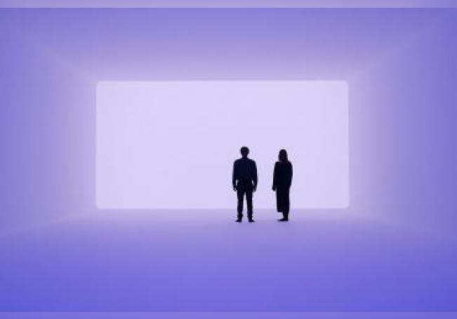"""Imagen cedida este miércoles muestra la obra """"Aural 2018"""", de James Turrell, que será expuesta en el Museo Jumex, en Ciudad de México (México). EFE/Florian Holzherr/SOLO USO EDITORIAL"""