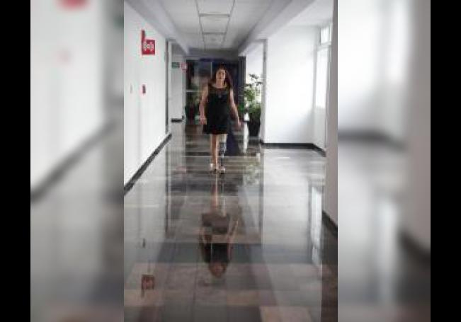 Gisel Guadarrama, superviviente de cáncer, en una rueda de prensa este lunes en Ciudad de México (México), para anunciar la sexta reunión de supervivientes de cáncer 2019 donde reunirá supevivientes, cuidadores, médicos, y público en general. EFE/Sáshenka Gutiérrez