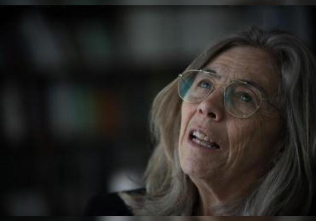 La directora adjunta de Desarollo Cientifico del Conacyt, María del Carmen de la Peza Casares, habla con Efe, en Ciudad de México, México, el 17 de julio de 2019. EFE/ Sáshenka Gutiérrez