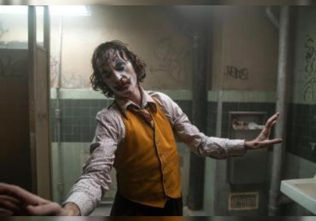 Joaquin Phoenix durante una escena de su nueva película.
