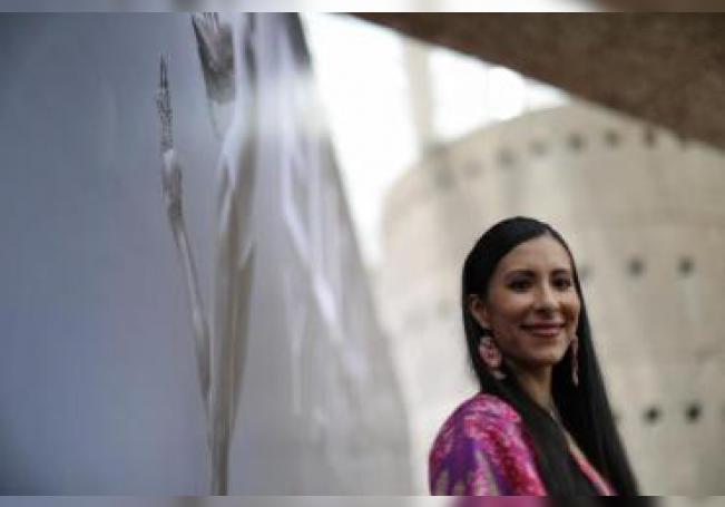 La bailarina mexicana Elisa Carrillo. EFE/Sáshenka Gutiérrez/Archivo