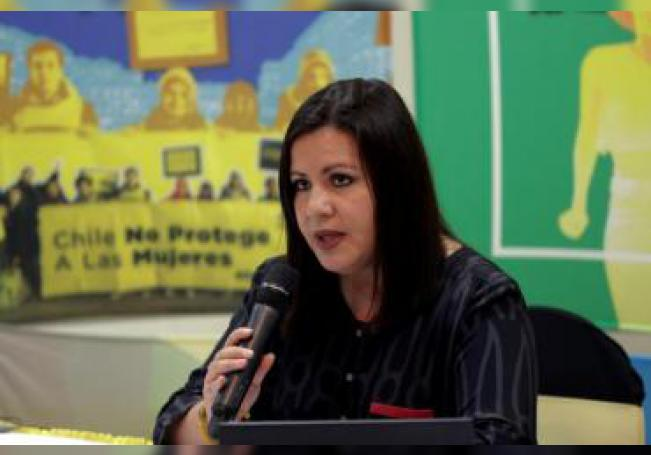La directora para las Américas de Amnistía Internacional, Erika Guevara Rosas. EFE/ Gustavo Amador/Archivo