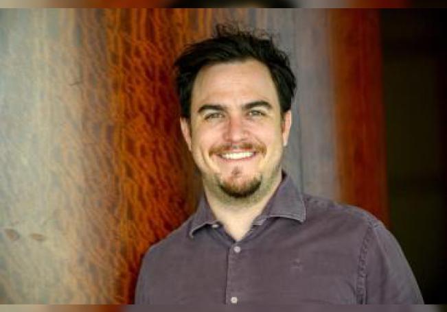 Nathan Schorr, uno de los fundadores de Flexio, la empresa ganadora del concurso Visa Everywhere Initiative (VEI) 2019 para América Latina y el Caribe, habla durante una entrevista con Efe en el marco de la jornada de clausura del evento FinnoSummit en Miami (Estados Unidos). EFE/ Giorgio Viera