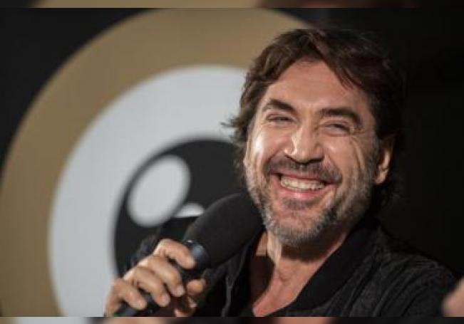 Spanish actor and environmental activist Javier Bardem speaks during the ZFF Master session at the 15th Zurich Film Festival (ZFF). EFE/EPA/Ennio Leanza/File