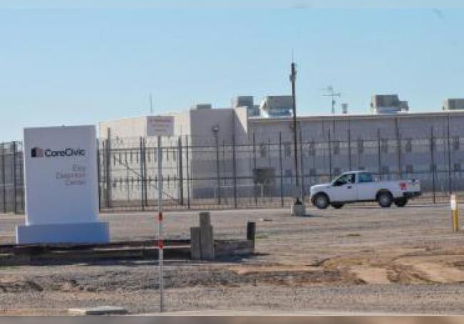 Vista exterior del Centro de Detención de Eloy, en Arizona. EFE/Gary M Williams/Archivo