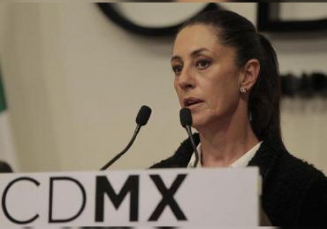 La actual jefa de Gobierno de Ciudad de México, Claudia Sheinbaum, reveló el 3 de enero que sobre Collins pesa una orden de captura por un presunto caso de corrupción cuando dirigía el Invi. EFE/Mario Guzmán/Archivo