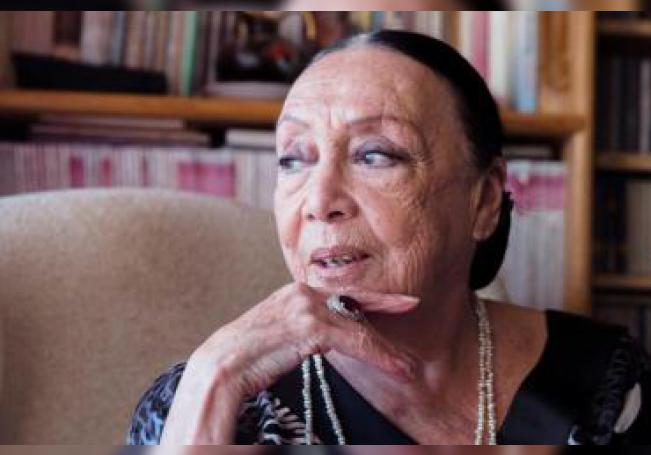 La cantante -de origen peruano y nacionalizada española- Betty Missiego, durante una entrevista con Efe con motivo de su 82 cumpleaños que celebra este jueves rodeada de familiares y amigos en Benalmádena (Málaga), donde reside desde hace nueve años junto a su marido, y en la que ha asegurado que nunca le ha interesado la fama y el divismo. Representó a España en 1979 en el Festival de Eurovisión