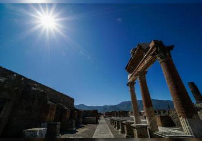 Las ruinas de Pompeya. EFE/EPA/CESARE ABBATE/ Archivo