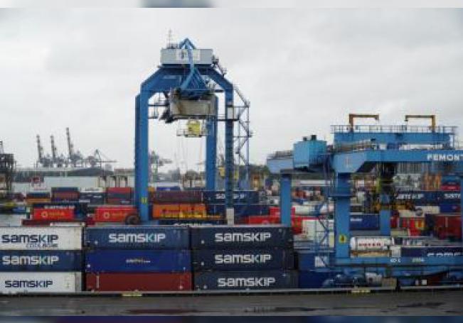 Loscártelesmexicanos se mudan cada vez más a Países Bajos para producir metanfetamina, aprovechando la facilidad de introducir las materias primas a través del Puerto de Rotterdam, lo que ha aumentado el número de laboratorios clandestinos para inquietud de la Policía holandesa . EFE/Imane Rachidi
