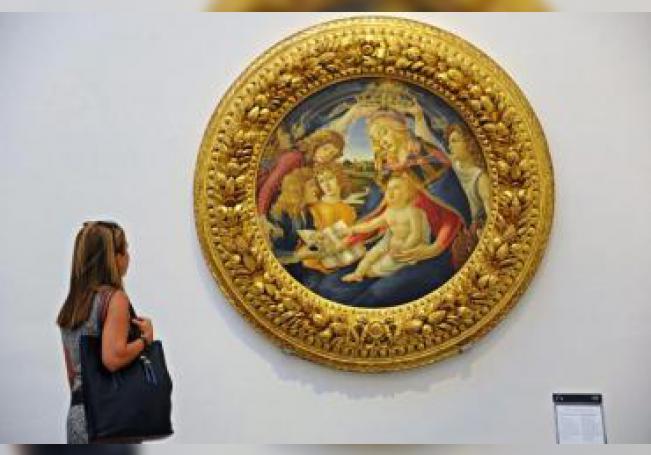 Galería de los Uffizi en Florencia. EPA/MAURIZIO DEGL' INNOCENTI/ Archivo