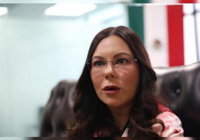 Fotografía del 16 de diciembre de 2019 que muestra la diputada mexicana, Laura Rojas, durante una entrevista con Efe, en Ciudad de México (México). EFE/Sáshenka Gutiérrez/Archivo
