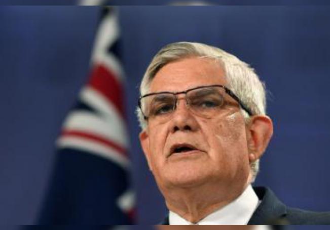 El ministro australiano de Asuntos Indígenas, Ken Wyatt. EPA/JOEL CARRETT/ Archivo