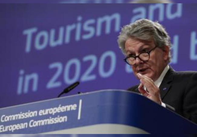 El comisario europeo de Mercado Interior, Thierry Breton. EFE/EPA/OLIVIER HOSLET / Archivo