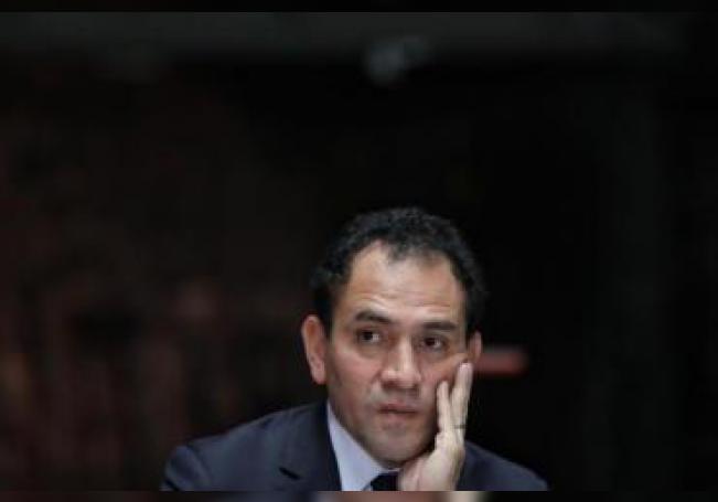 El secretario de Hacienda de México, Arturo Herrera, durante una conferencia de prensa. EFE/Sáshenka Gutiérrez/Archivo