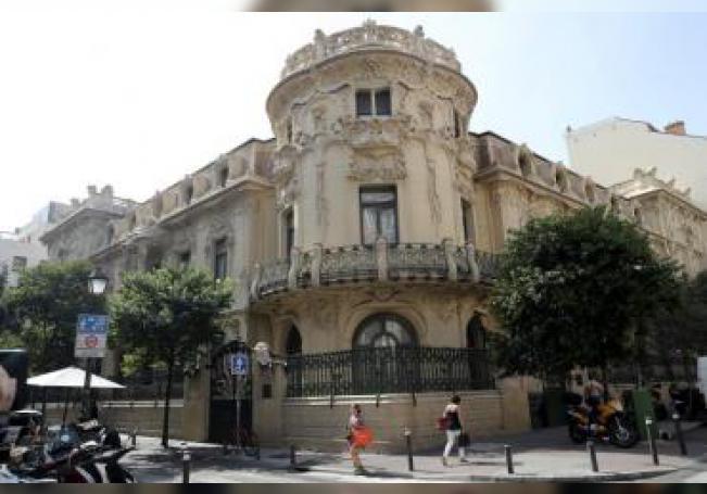 Fachada de la Sociedad General de Autores Españoles (SGAE). EFE/Chema Moya/ Archivo