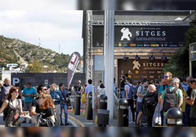 El Festival de Cine Fantástico de Sitges. EFE/ Susanna Sáez/ Archivo