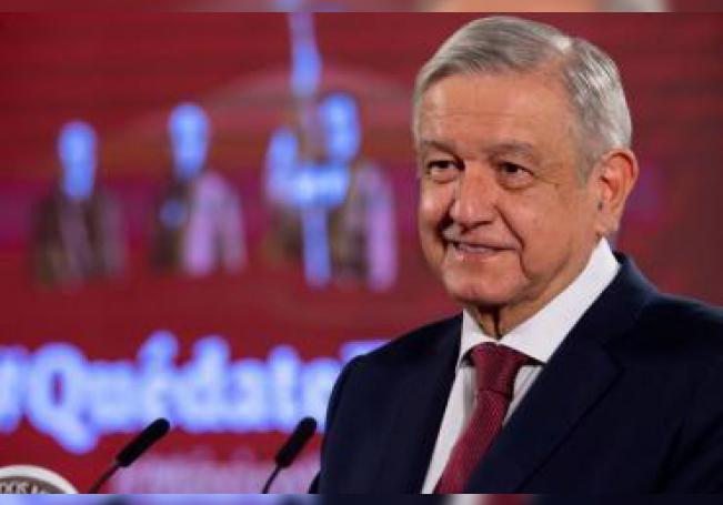 López Obrador pidió a la población seguir cuidándose pues todavía no hay vacuna contra el coronavirus.