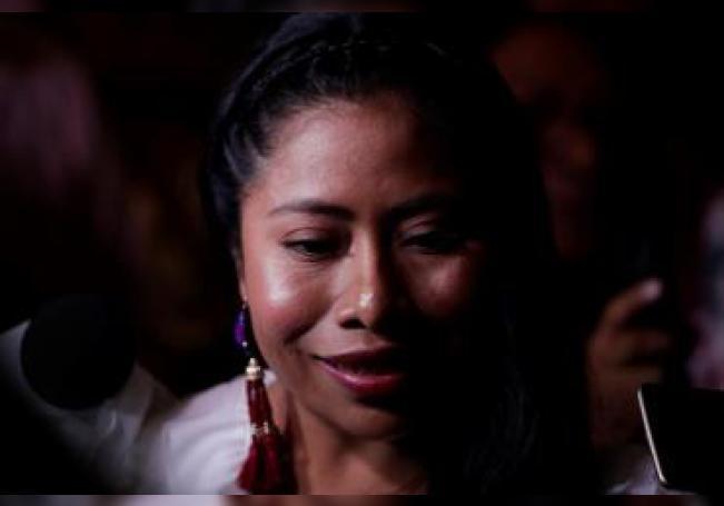 Fotografía de archivo de la actriz mexicana Yalitza Aparicio Martínez. EFE/Bienvenido Velasco/Archivo