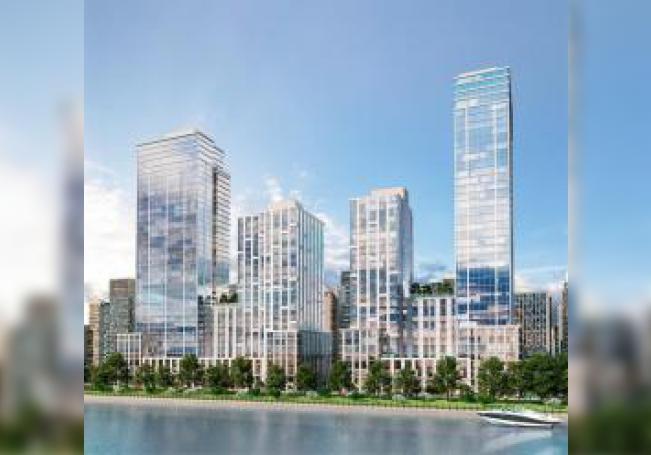Fotografía cedida por la agencia de comunicación Top of Mind donde se muestra el proyecto Lightstone Towers de Nueva York que la compañía LS NYRC ha completado en EE.UU con fondos de inversores EB-5. EFE/Top of Mind /SOLO USO EDITORIAL /NO VENTAS