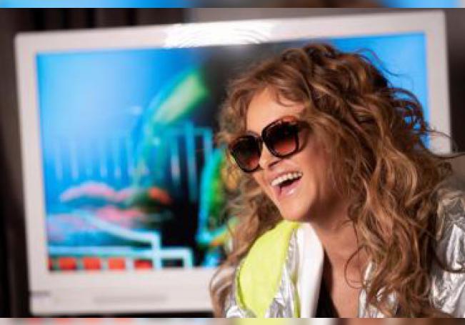 La cantante mexicana Paulina Rubio, durante una entrevista con Efe. EFE/Mariscal/Archivo