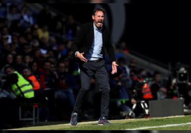 El entrenador del RCD Mallorca, Vicente Moreno. EFE/G. Loinaz/Archivo