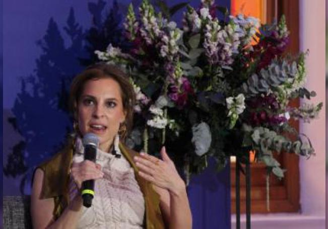 La actriz mexicana Marina de Tavira posa durante una rueda de prensa en Ciudad de México (México). EFE/ Mario Guzmán/Archivo