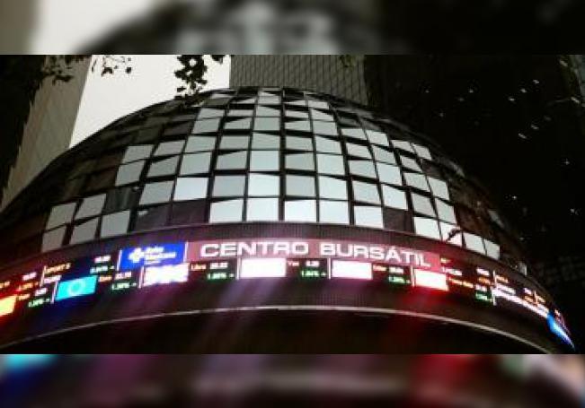 Vista de un tablero de la Bolsa de Valores de México en Ciudad de México. EFE/Jorge Núñez/Archivo