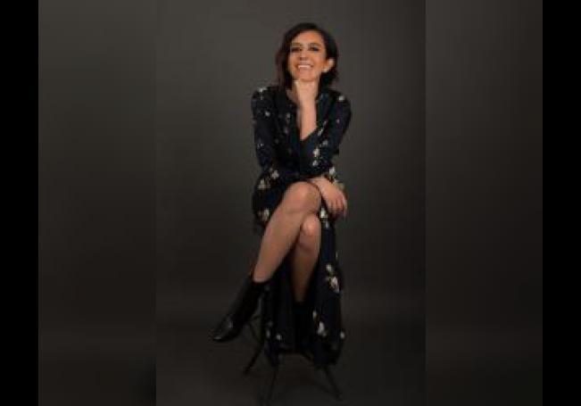 Fotografía cedida este miércoles por la agencia PinPoint que muestra a la productora Tania Benítez mientras posa, en Ciudad de México (México). EFE/ PinPoint /SOLO USO EDITORIAL /NO VENTAS