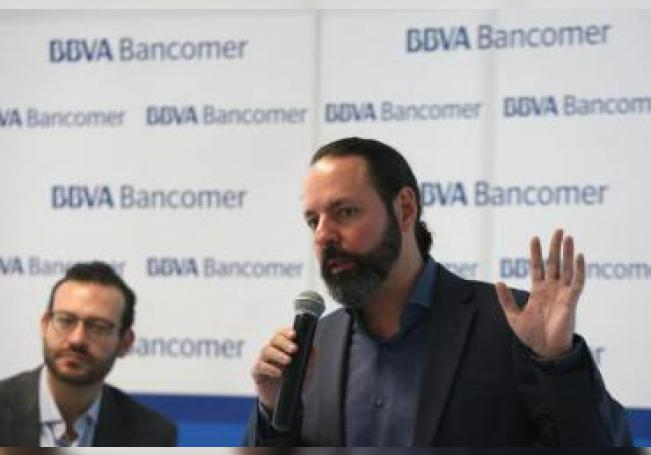 El director general de desarrollo de negocios del español BBVA Bancomer, Hugo Nájera Alba. EFE/ Alex Cruz/Archivo