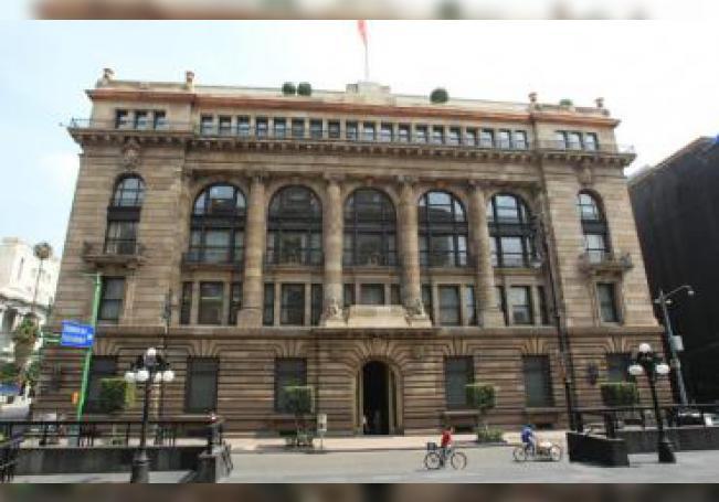 Vista general del edificio del Banco Nacional de México. EFE/Mario Guzmán/Archivo