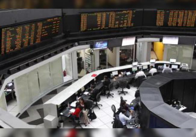 Aspecto general de la Bolsa Mexicana de Valores en Ciudad de México (México). EFE/Alex Cruz/Archivo