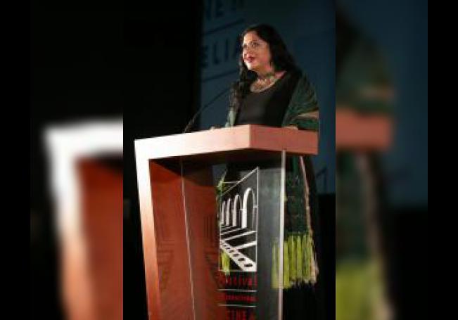 La secretaria de Cultura del Gobierno de México, Alejandra Frausto. EFE/Iván Villanueva/Archivo