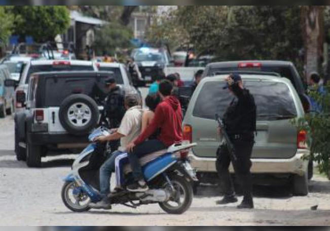 Integrantes de la policía estatal y Fiscalía del Estado de Jalisco, montan un operativo en el estado de Jalisco (México). EFE/STR/Archivo
