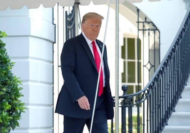 """""""Quiero darle las gracias al presidente de México. Creo que vendrá a Washington bastante pronto, a la Casa Blanca"""", dijo Trump, sin dar más detalles."""
