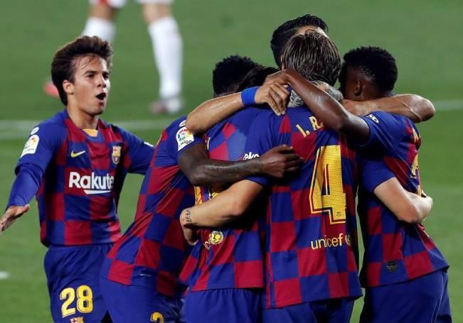 Un gol en el minuto 71 dio la victoria al Barcelona