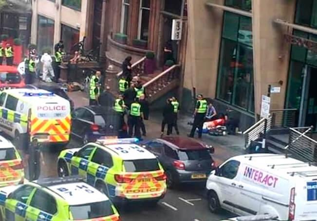 El atacante fue abatido por la policía.