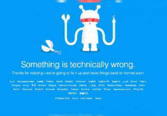 La caída se podría deber a los cambios mayores que Twitter anunció para su interfaz en días pasados.