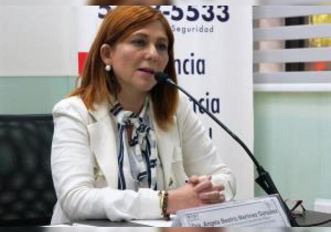 La presidenta de la Red Mundial de Suicidólogos de México, Ángela Beatriz Martínez Gozález