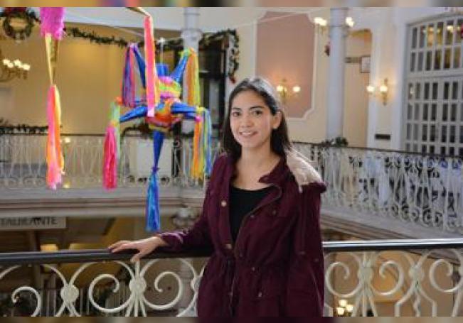 Mariana tiene 21 años y ha desarrollado una app para impulsar las capacidades de aprendizaje de los alumnos de educación básica.